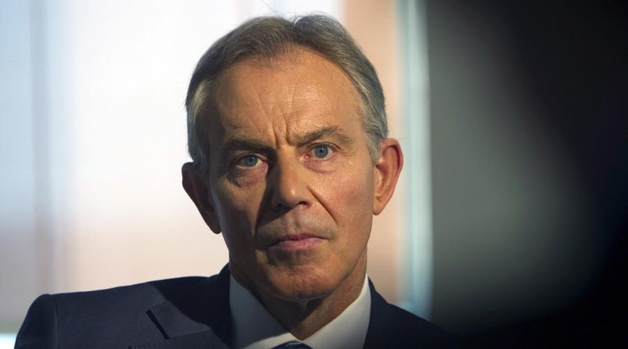 British Prime Minister Tony Blair. ©  Ronen Zvulun