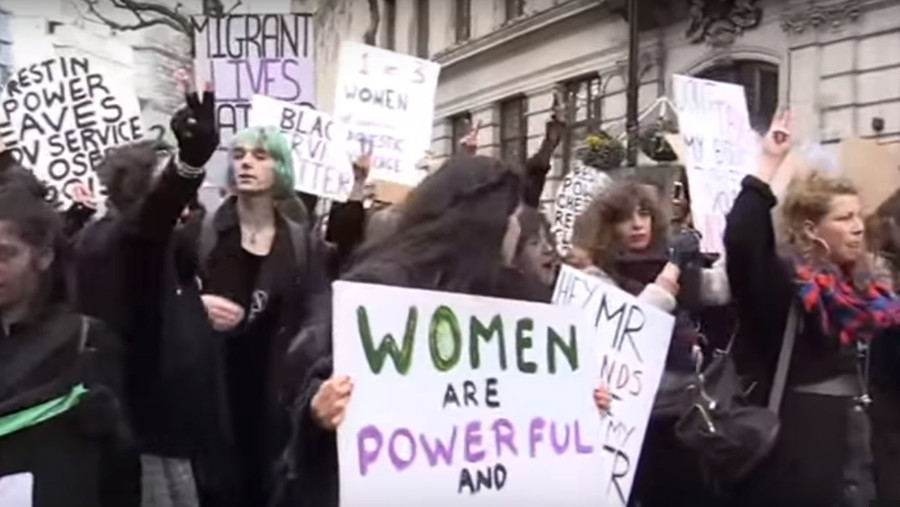 Violence against women: 'Your cuts are sexist & dangerous,' activists tell Tories
