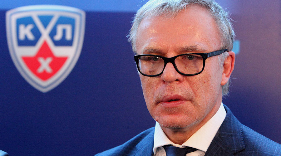 Vyacheslav Fetisov, member of the KHL's board of directors © Vitaliy Ankov