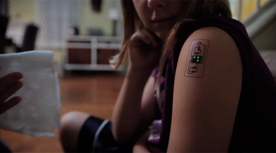 Tech Tatts: Biometric tattoos raise the bar in wearable technology (VIDEO)