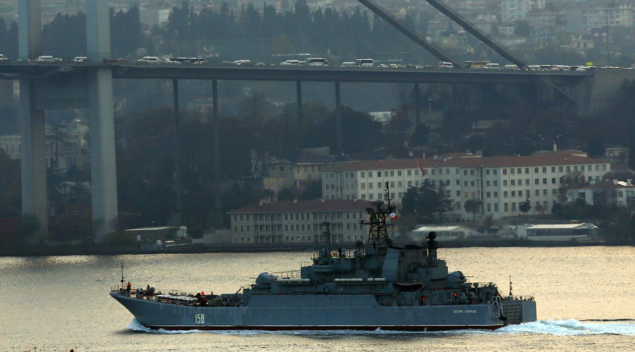 Turkey decries sighting of Russian 'soldier with manpad' on ship passing Istanbul