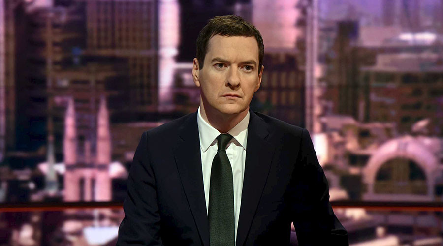 Britain's Chancellor of the Exchequer George Osborne. © Jeff Overs / BBC