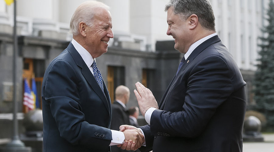 Biden: 'More time talking to Ukraine president than my wife'