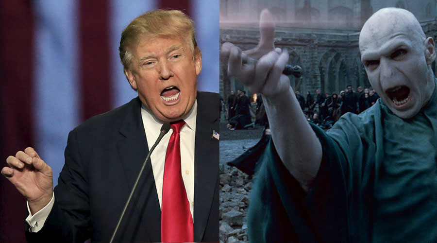 Voldemort 'nowhere near as bad' as Trump - Rowling