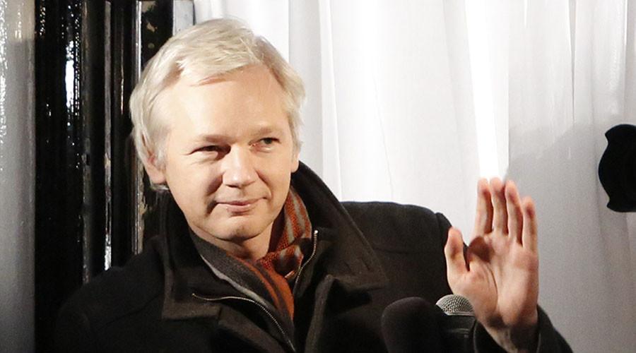 WikiLeaks founder Julian Assange. ©Luke MacGregor
