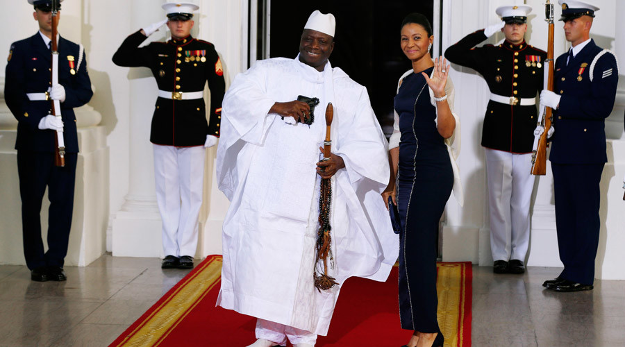 Republic of the Gambia's President Yahya Jammeh © Larry Downing