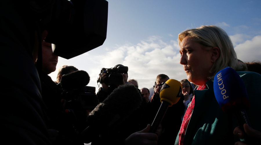 Marine Le Pen, French National Front political party leader © Pascal Rossignol
