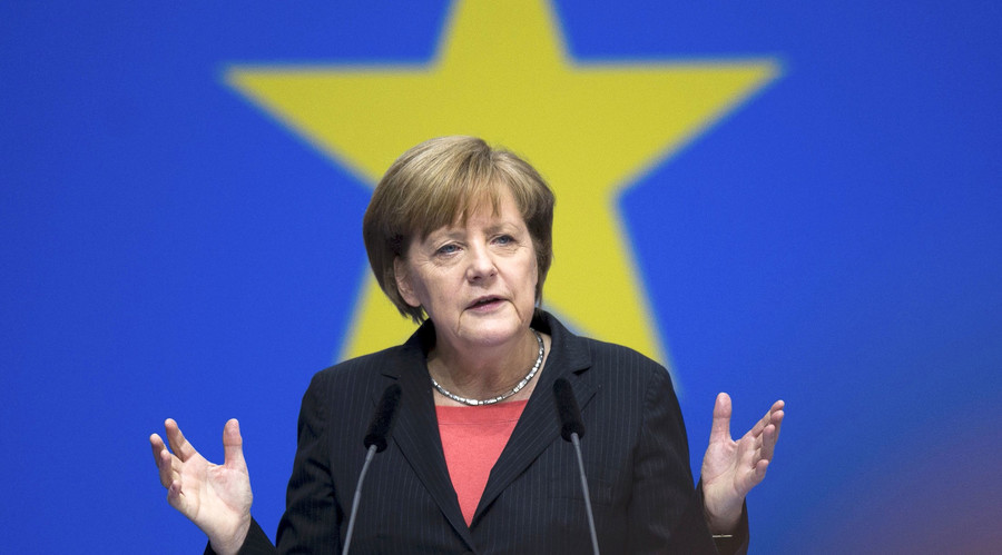 German Chancellor Angela Merkel. © Stefanie Loos