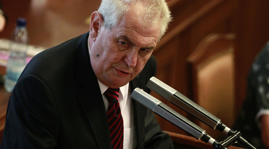'Turkey acts like ISIS ally, should not be EU member'– Czech president