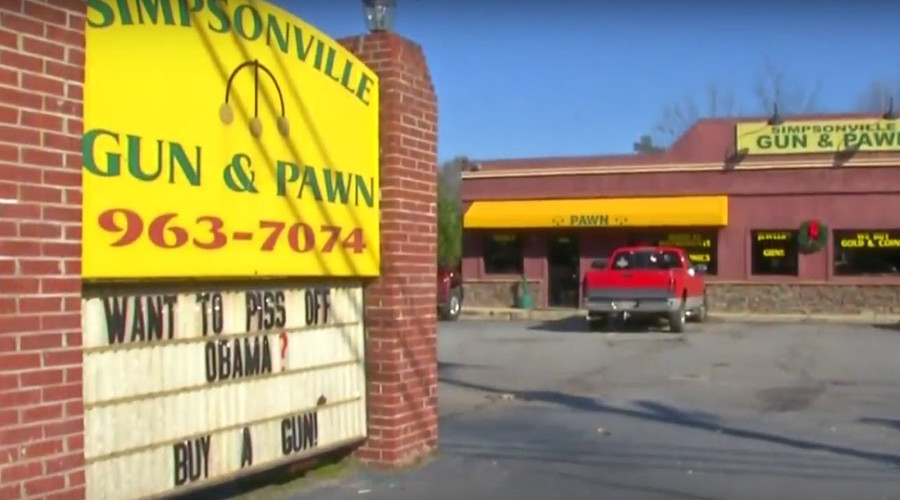 "South Carolina gun store wants ""to piss off Obama"""