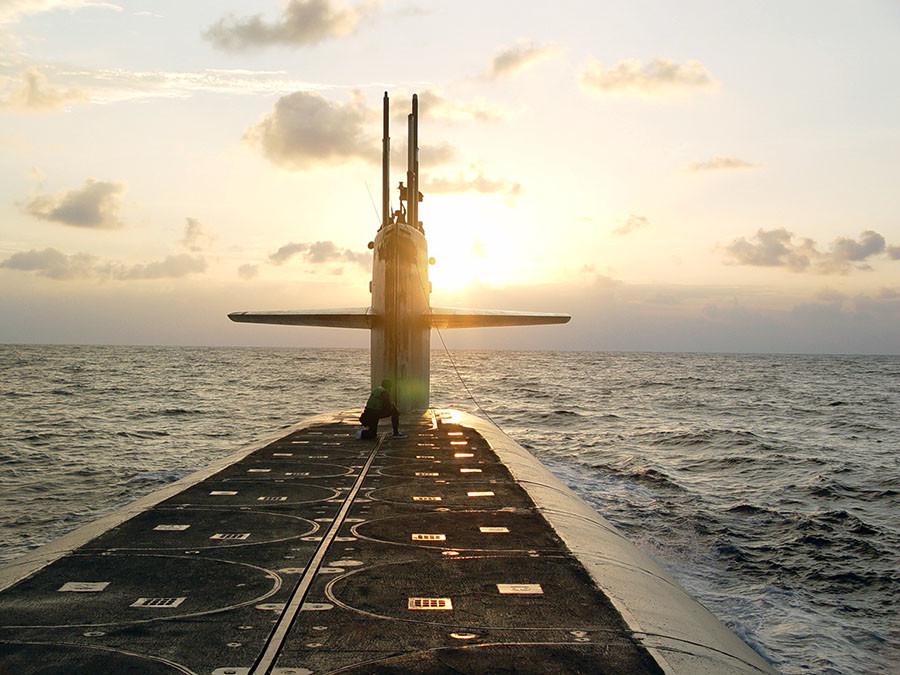 USS Wyoming. ©U.S. Navy