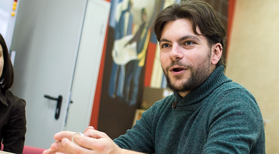 Roberto Cazzolla Gatti, Ph.D. © Tomsk State University press-service