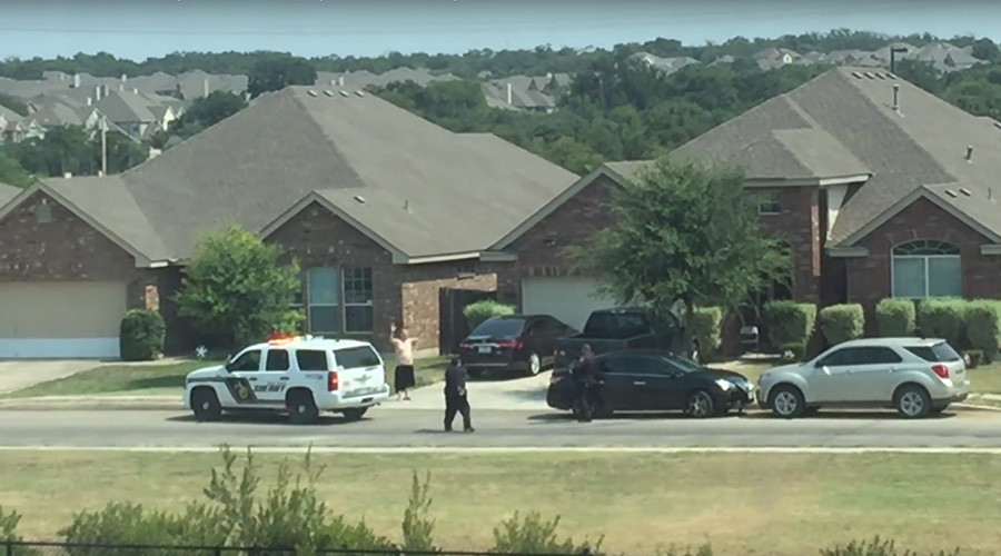 New footage shows Texas police open fire after suspect raises arms (VIDEO)