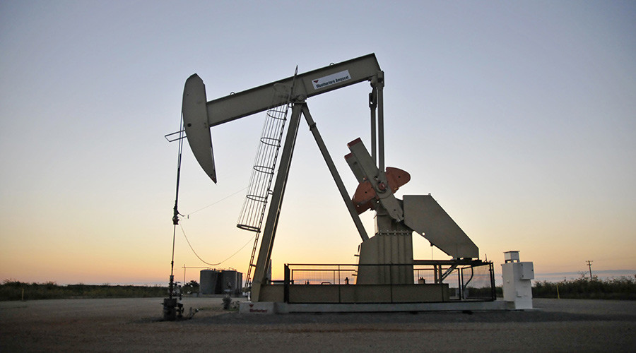 Crude falls below $35 a barrel for first time since 2009