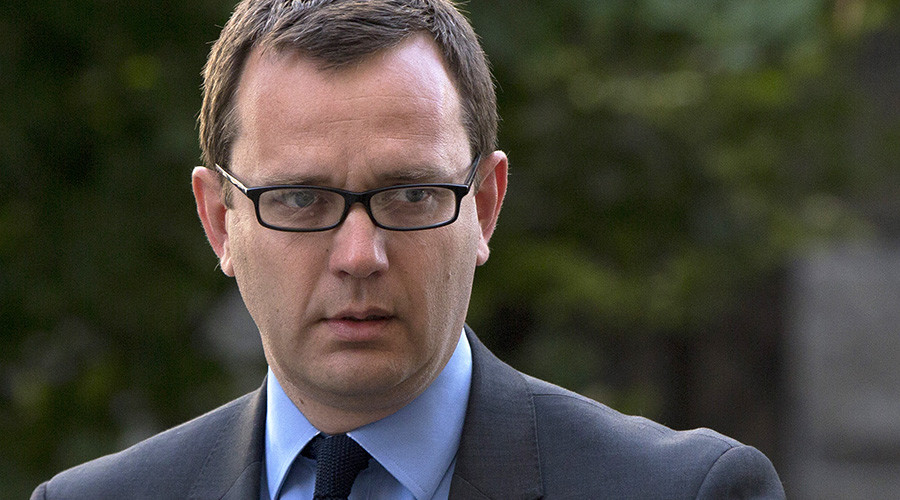 Former editor of the News of the World Andy Coulson © Neil Hall