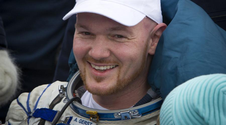 International Space Station (ISS) crew member Alexander Gerst. © Shamil Zhumatov