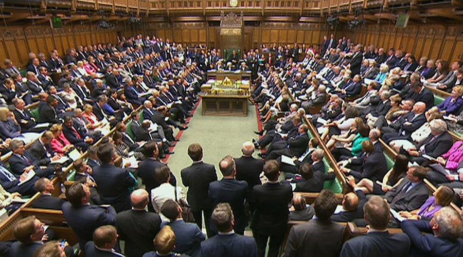 © UK Parliament via Reuters TV