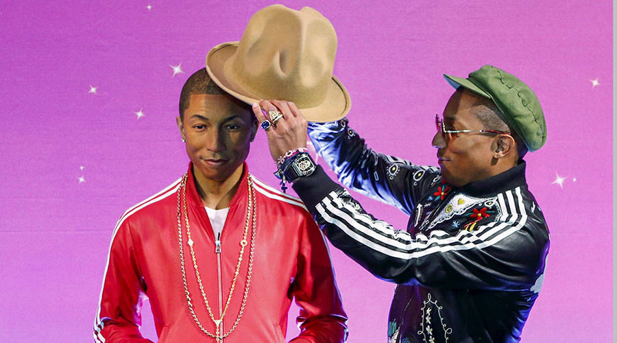 Musician Pharrell Williams. © Eduardo Munoz