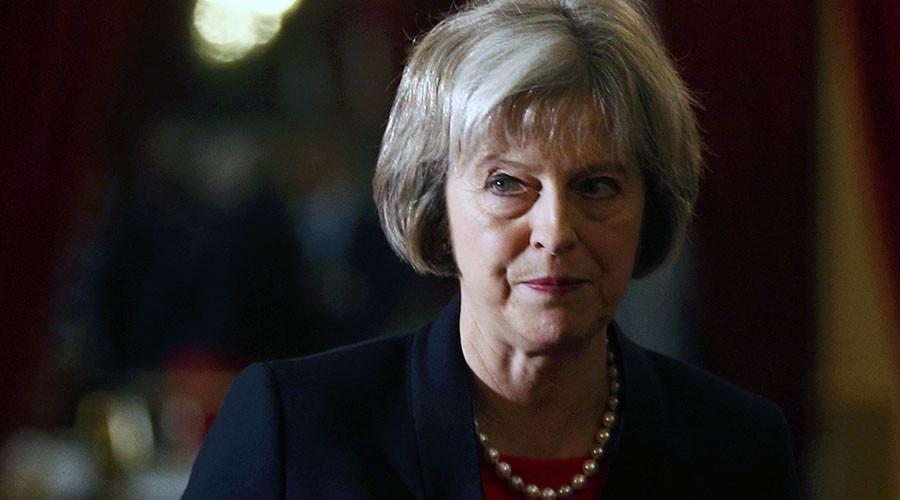 Britain's Home Secretary Theresa May. ©Peter Nicholls