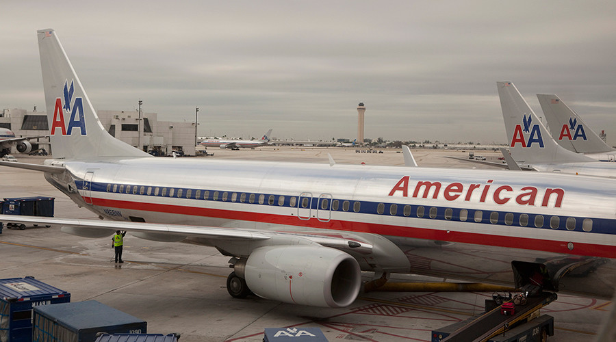 Bomb squad at Miami airport as 'suspicious activity' grounds American Airlines flight from Paris