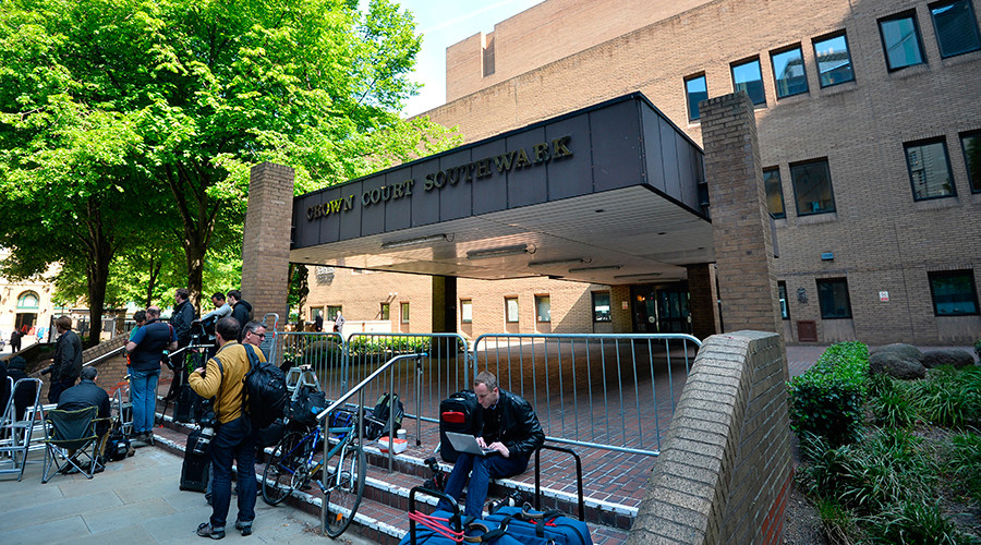 A general view shows Southwark Crown Court in London © Ben Stansall