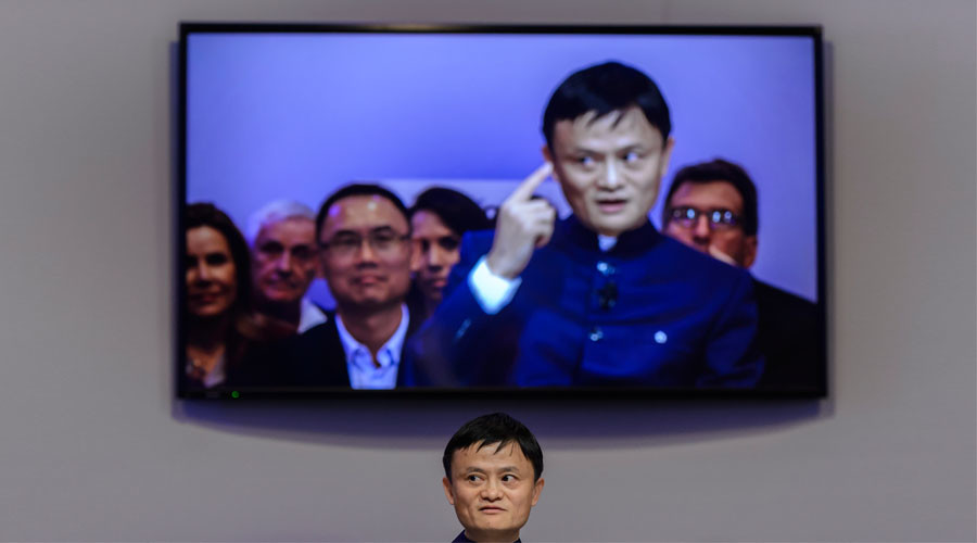 Alibaba Group Founder and Executive Chairman, Jack Ma. © Fabrice Coffrini