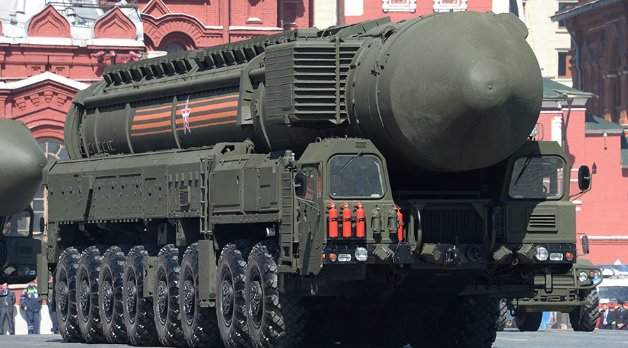 An RS-24 Yars / SS-27 Mod 2 solid-propellant intercontinental ballistic missile. ©Iliya Pitalev