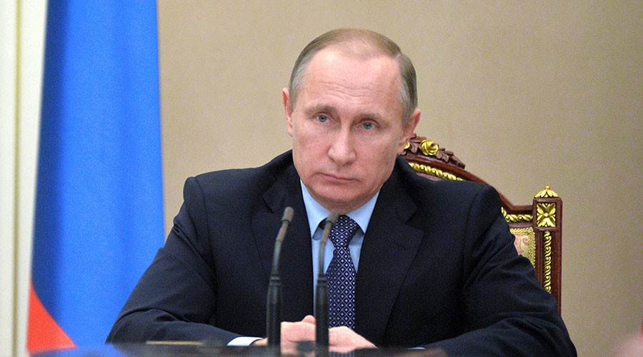 Putin signs decree suspending free trade treaty with Ukraine starting January 1, 2016