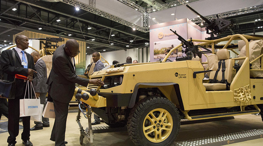 'Thriving off conflict': UK is world's second largest arms seller