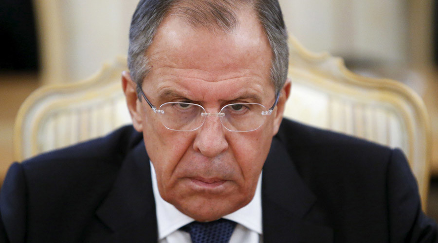 Russia's Foreign Minister Sergey Lavrov © Sergey Karpukhin