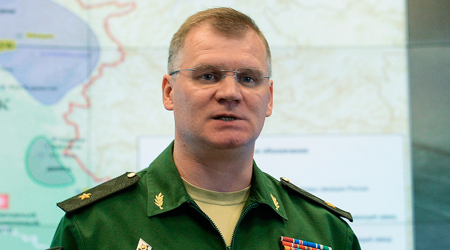 Russian Defense Ministry Spokesperson Major General Igor Konashenkov © Alexander Vilf