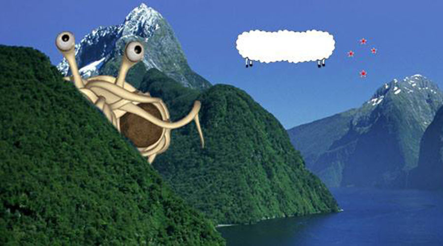 Holy macaroni! New Zealand approves Pastafarian marriages