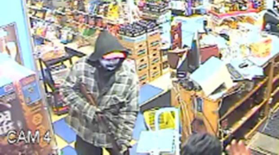 Sikh store clerk mistaken for Muslim called 'terrorist' & shot in face by robber