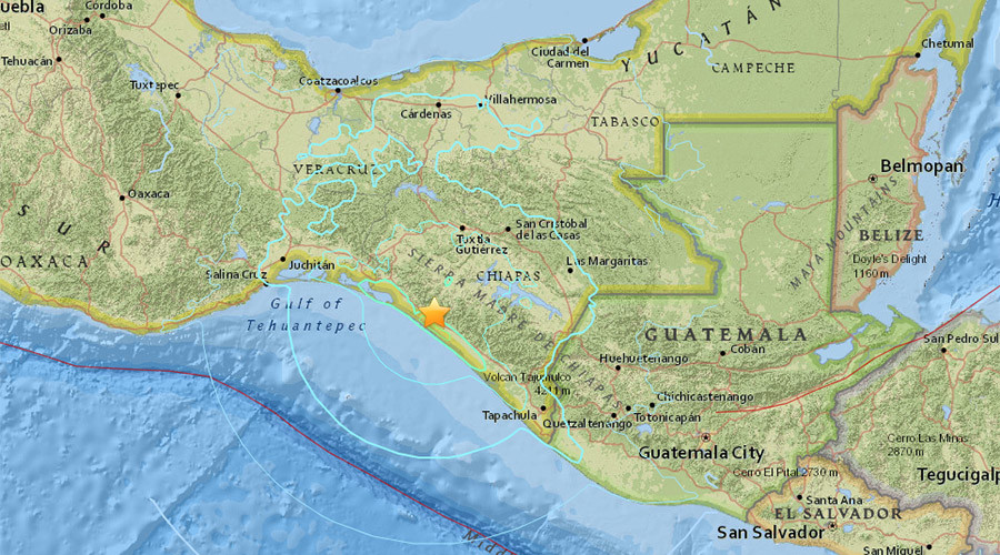 6.4-magnitude quake hits off southern Pacific coast of Mexico – USGS