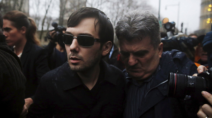 Price-jacking CEO Martin Shkreli resigns from Turing in wake of fraud charges