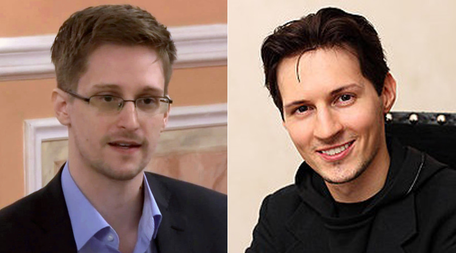 Snowden doubts security of Telegram
