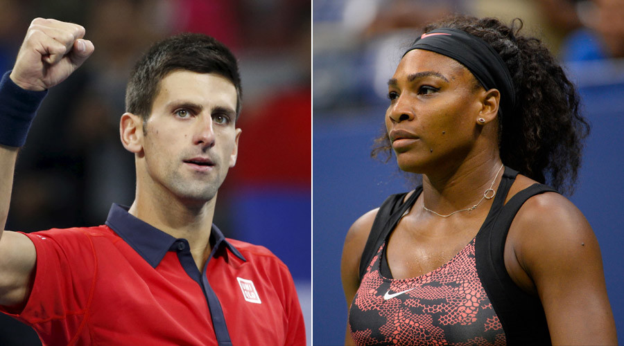 Novak Djokovic, Serena Williams © Kim Kyung-Hoon, Robert Deutsch