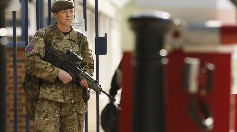 British military opens combat roles to women soldiers