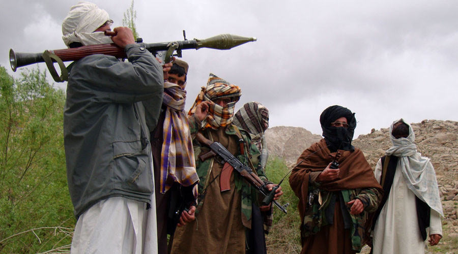 Taliban militants in Afghanistan © Reuters