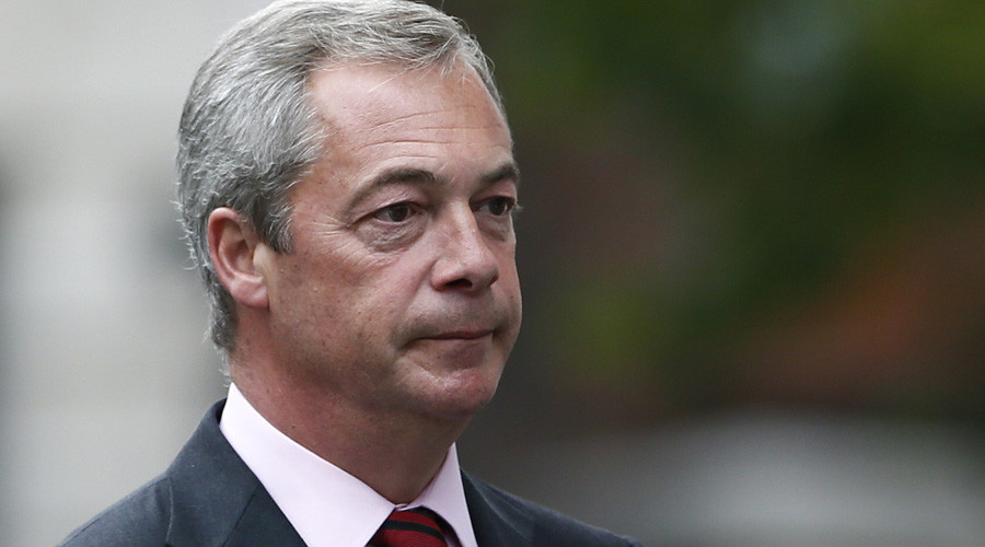 Nigel Farage, the leader of Britain's anti-EU UK Independence Party (UKIP) © Stefan Wermuth