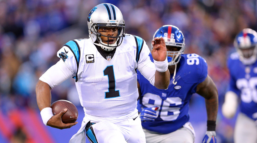 Newton drives Panthers to 14-0 despite amazing Giants comeback