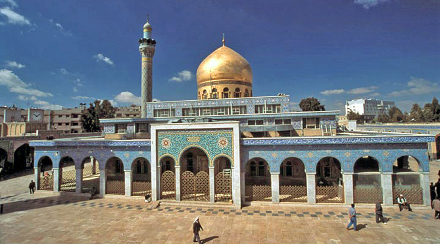 The Sayyidah Zaynab Mosque in