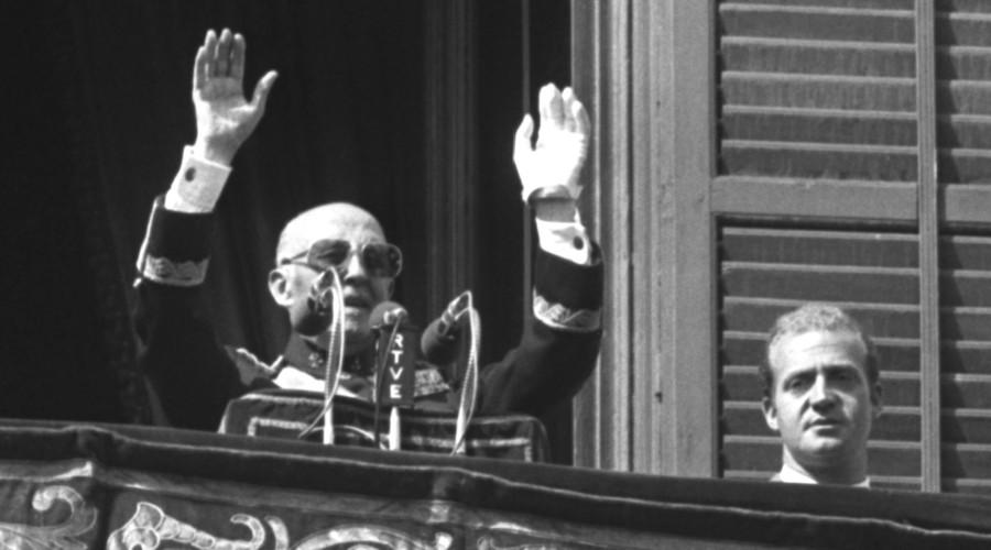 Former Spanish dictator General Francisco Franco. © Reuters