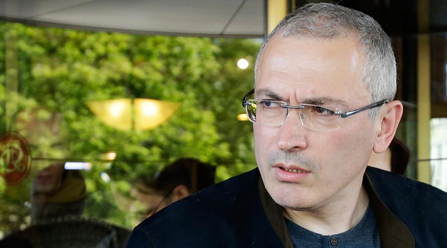 Former Yukos chief Mikhail Khodorkovsky © Vasily Prokopenko