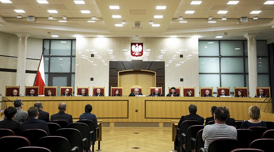 Poland's Constitutional Tribunal © Agencja Gazeta
