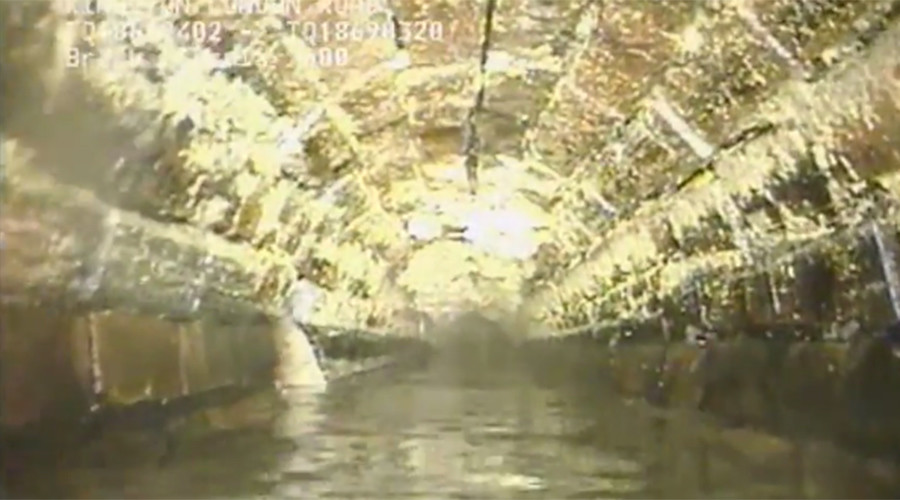 Massive 'fatberg' in London sewer could have posed Christmas flooding risk