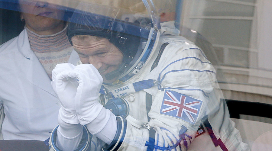 British astronaut Tim Peake, member of the main crew of the expedition to the International Space Station (ISS). © Dmitry Lovetsky