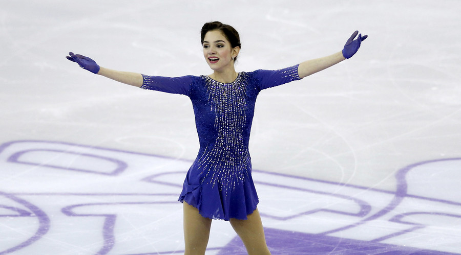 Russian figure skater Medvedeva sets world record in single short program
