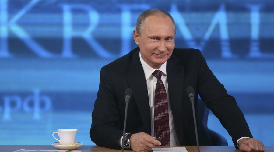 'I've seen Russia's future and its name is probably Vladimir Putin'