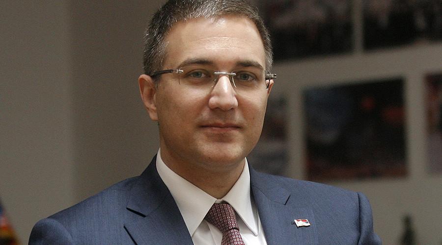 Serbian Interior Minister Nebojsa Stefanovic. © Marco Djokovic